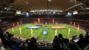 RBS 6 Nations Championship 15/3/2014 Wales vs Scotland General view as the team arrive out at the Millennium Stadium Mandatory Credit ©INPHO/Cathal Noonan